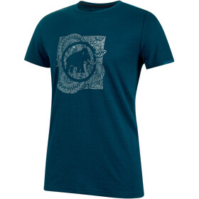 Mammut Alnasca t-shirt Heren, poseidon